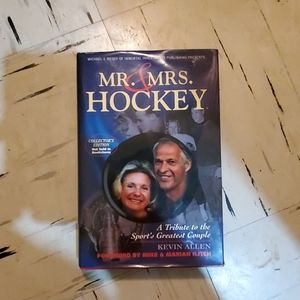 Autographed book Mr and Mrs. Hockey
